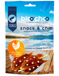 BlooChoo Snack Chicken & Cheese Λιχουδιές Με Κοτόπουλο Και Τυρί 80 gr