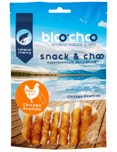 BlooChoo Snack Chicken Rawhide Λιχουδιές Με Κοτόπουλο 80 gr