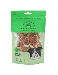 Celebrate Freshness Λιχουδιά Σκύλου Σούσι Με Κουνέλι Και Ψάρι 100 gr