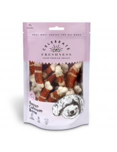 Celebrate Freshness Λιχουδιά Σκύλου Με Μπέικον Και Ασβέστιο 100 gr