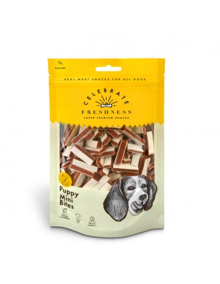 Celebrate Freshness Puppy  Λιχουδιά Σκύλου Mini Μπουκίτσες Με Κοτόπουλο Και Ψάρι 100 gr