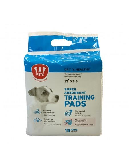 T.A.F Pets Υπέρ Απορροφητικές Πάνες Εκπαίδευσης Για Κουτάβια 15 τεμ.