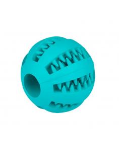 Gloria Dental Toy Παιχνίδι Σκύλου Μπάλα Λιχουδιάς Μπλε