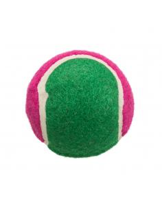 Trixie Παιχνίδι Για Σκύλο Μπαλάκι Τένις Φούξια - Πράσινη