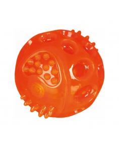 Trixie Παιχνίδι Σκύλου Φωσφοριζούσα Μπάλα Πορτοκαλί